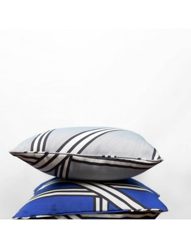 Gray outdoor cushion with...