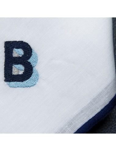 Rectangular blue placemat...