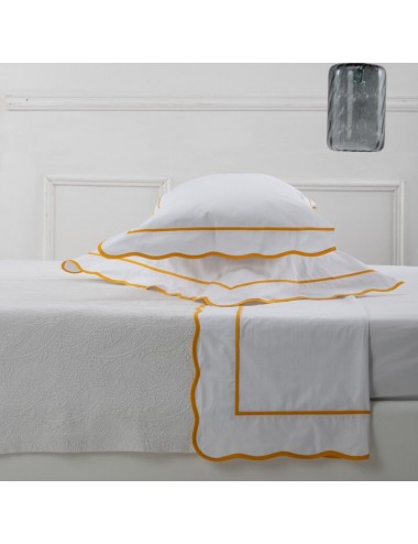 White percale set of sheets...