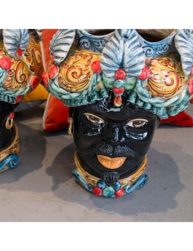 Multicolor man Moor's head