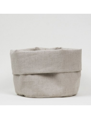 Cestino tondo porta pane sabbia