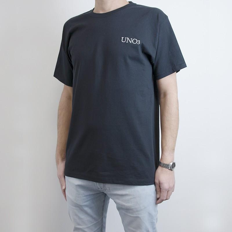 Set 4 t-shirt personalizzabili in puro cotone nero