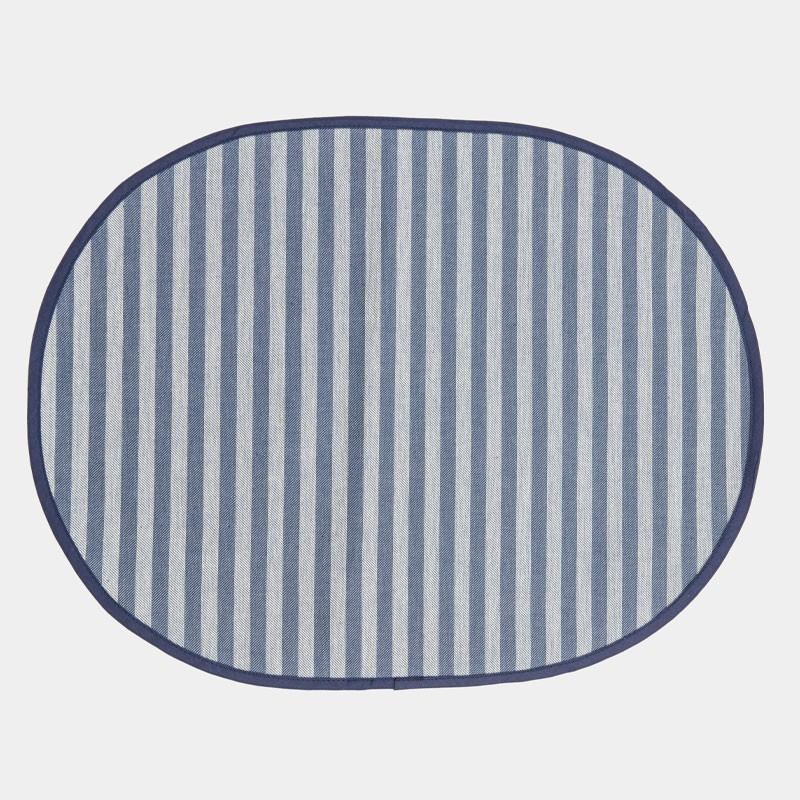 Americana ovale in tessuto resinato