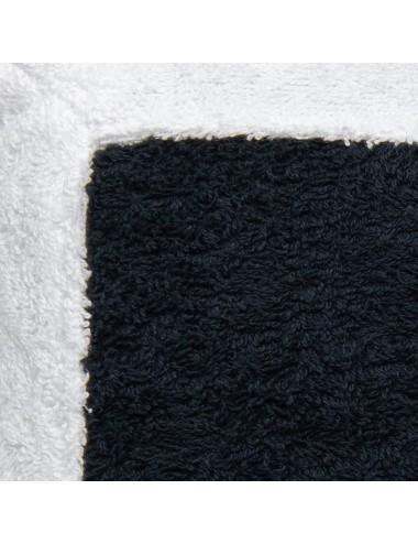 Black terry cloth cuschion...