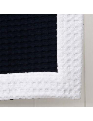 Telo Mare Apone Blu/Bianco
