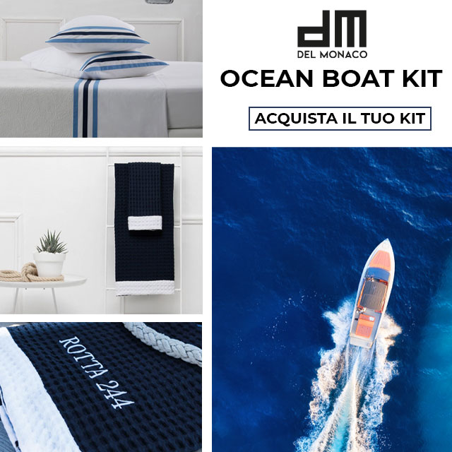 Del Monaco Luxury - Ocean Boat Kit